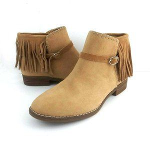 American Eagle Outfitters Suede Fringed Boots
